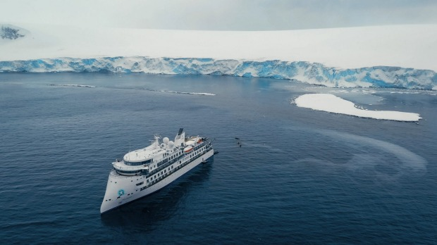 The ship's inaugural season features 20 expeditions in the Antarctica peninsula, South Georgia and Falkland Islands. It ...