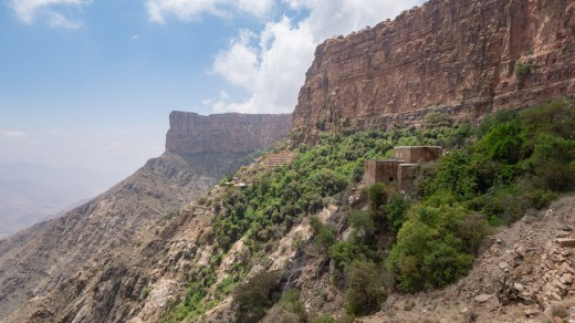 Habala, a small mountain village in Asir Region of Saudi Arabia.