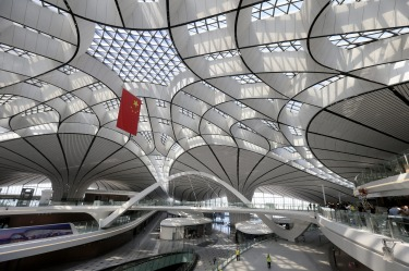 Finished by Patrik Schumacher, the leader of the firm that continues to bear her name, the magnificent airport has all ...