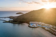The Whitsunday's iconic private island resort, the Hayman Island by InterContinental.