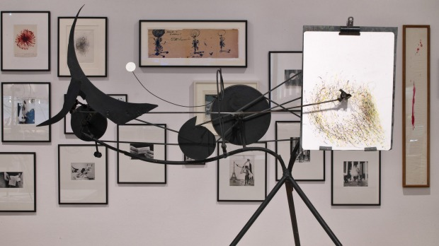 Metamatic No 10 in the Tinguely Museum.