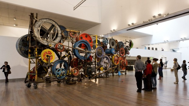 Fatamorgana in the Tinguely Museum.