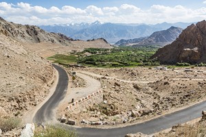 Tackling the Khardung La Pass on two wheels is a thrill ride.