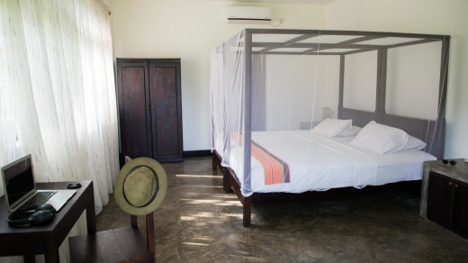 A room at Talalla Retreat.