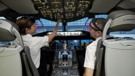 Researchers will collect data on the pilots and crew during the flight to monitor their wellbeing.