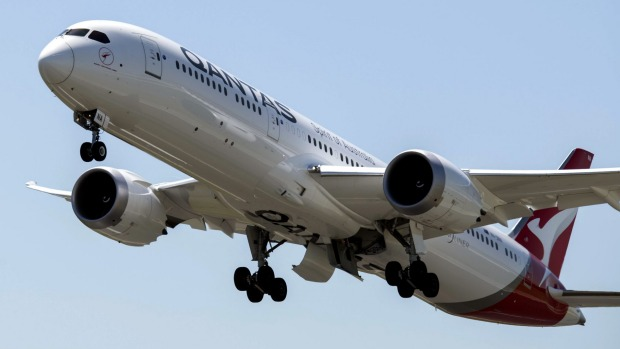 Qantas will ban unvaccinated passengers from international flights when borders reopen.