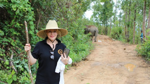 Susie Porter on her travels.