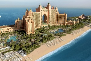 Where would you find the spectacular Atlantis hotel?