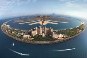 The Atlantis, the Palm is located on Palm Jumeirah, Dubai's artificial, none-too-subtle island that is shaped like a ...