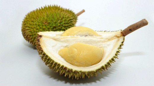 Durian is banned on trains and planes across Asia.
