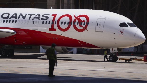 Qantas announced on Thursday limited flights to Melbourne from Los Angeles and London.