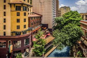 San Antonio's Hotel Valencia Riverwalk.