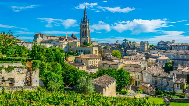 The French village Saint Emilion.