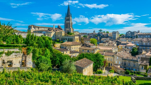 French village of Saint Emilion.