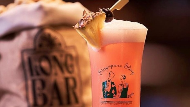 Raffles Long Bar Reopens With A Reimagined Singapore Sling