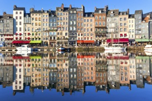 Honfleur is one of Normandy's, and France's, most beautiful cities, though, with a population of about 8000, it's really ...