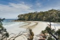 One of the many beautiful white sand coves at Jervis Bay in New South Wales.