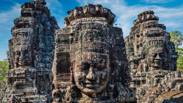 Angkor Wat is beginning to show signs of wear and tear from tourist crowds.