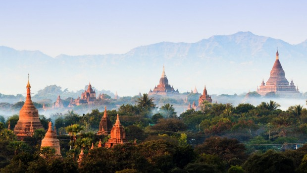 Bagan, Myanmar. Myanmar was the fastest growing destination in 2019, with visitors increasing by more than 40 per cent.