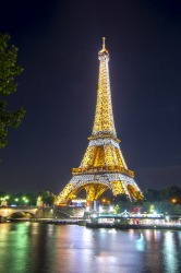THE EIFFEL TOWER, PARIS: Paris' favourite icon and a landmark feat of engineering, the iron trellis of the Eiffel Tower ...