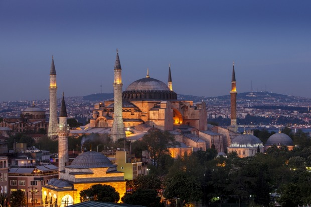 HAGIA SOFIA, ISTANBUL: Wars, plague, the fall of the Byzantine Empire, the crusaders and the coming of the Ottomans – ...