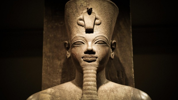An Amenophis III statue in the Luxor Museum.