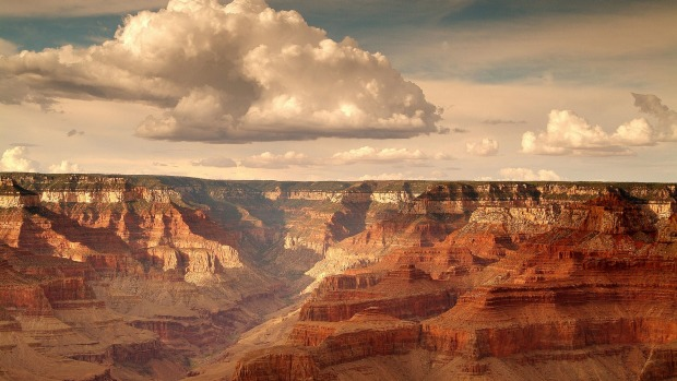 The Grand Canyon can be hard to adequately surmise, but if you imagine a jelly-cast for a mountain range then you are ...