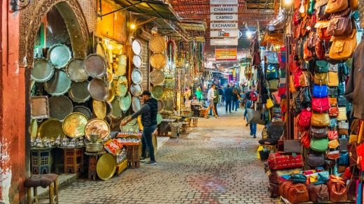 You can get by in the souks of Morocco with a few words of Arabic and some hand gestures.