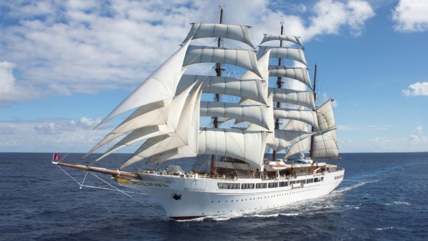 Sea Cloud II (pictured) will be joined by the new Sea Cloud Spirit next year.