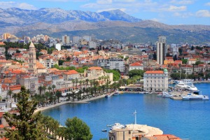 Beautiful Split, in Croatia.