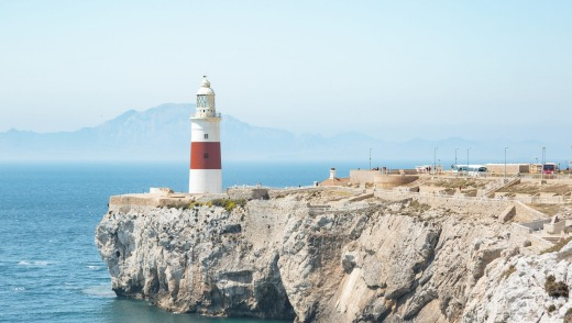 The lighthouse of Gibraltar.