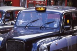 You can ride a London Black cab without taking off your top hat.