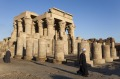 One of the most beautiful temples close to the Nile - the Kom Ombo complex.