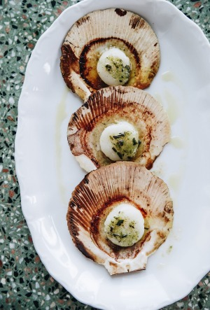 Scallops from the menu at Mr Percivals.