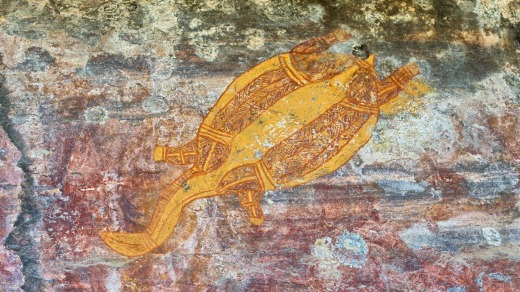 Kakadu rock art.