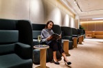 Qantas is the only airline other than the national carrier, Singapore Airlines, to have a first class lounge in the ...
