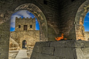 The Temple of Fire in Surakhani near Baku, Azerbaijan.