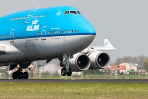 KLM operates 'combi' 747s, which carry both passengers and cargo.