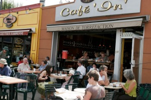 Café culture is booming in Montreal.