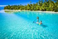 The Cook Islands, one of many Pacific nations which has escaped the scourge of COVID-19 by closing its borders.