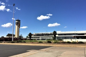 Kamuzu International Airport, Malawi.