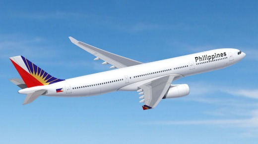 Philippine Airlines' A330-300 aircraft.