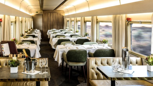 The restaurant carriage.