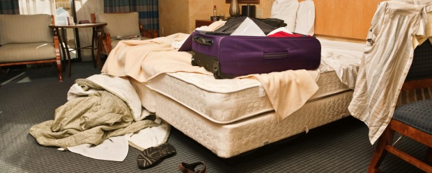 TVs, iPads, artwork and coffee-makers have all disappeared from hotel rooms.