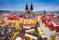 Europe's Christmas markets are spectacular.