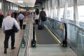 New travelators at Melbourne Airport terminal 4