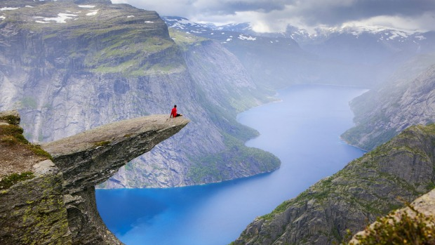 Do something that scares you in 2020. Perhaps hike out to Trolltunga rock in, Norway?