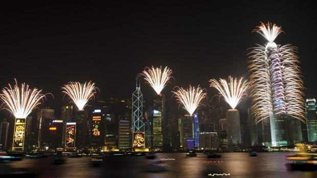 Hong Kong's famous fireworks that explode above Victoria Harbour will not happen this New Year's Eve.
