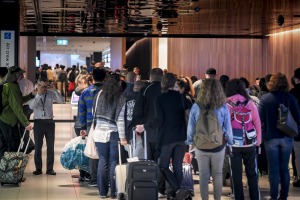 Travellers returning from overseas can expect to go through unprecedented airport security screenings as Australia ...
