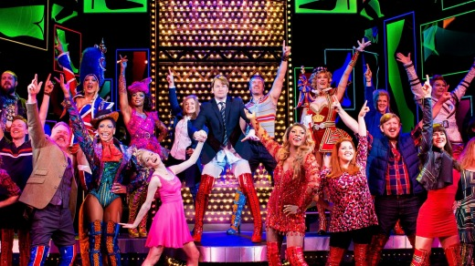 Kinky Boots is one of three shows on board Norwegian Encore.